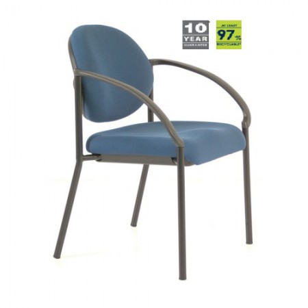 Buro essence visitor chair precision stationery office for Buro fourniture