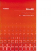 Collins A5/50 DL Quotation Book 50lf NCR