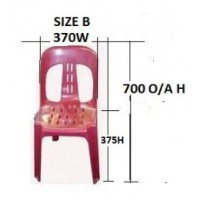 Student Magnum Stacker Chair Size B