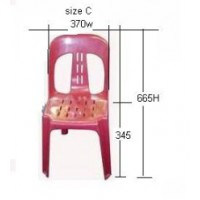 Student Magnum Stacker Chair Size C