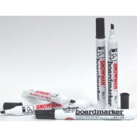 Snowman Bullet tip Whiteboard markers Pack of 4