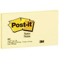 Post-it Notes 76 x 123mm