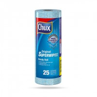 Chux Super Wipes Roll 25pk