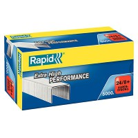 Rapid BX5000 Staples 24/8mm Strong