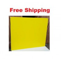 Magnetic Glassboards Yellow Free Delivery