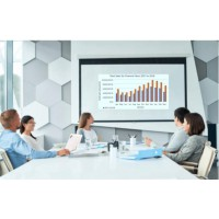 Prowite Manual Projection Screen 1.83 x 1.37 m (90 inch diagonal)