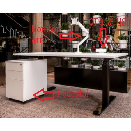 Electric Desk Package
