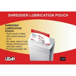 Ledah Shredder Lubrication...