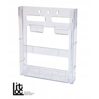 Lit Loc A4 Modular Brochure Holder