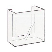 Brochure Holder, Wall Mounting, DLE