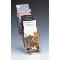 Brochure Holder, 4-Tier DLE