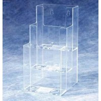 Brochure Holder, 3-Tier DLE