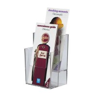 Brochure Holder, 2-Tier DLE