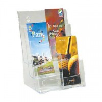 Brochure Holder, 3-Tier, 6 x DLE Pockets