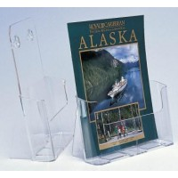 Brochure Holder, Desk/Wall Mount, A4, Retail Pack