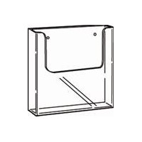 Brochure Holder, Wall Mount, A4