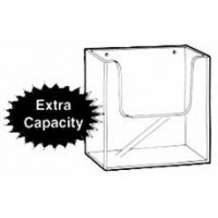 Brochure Holder, Extra Capacity, Flat Backed, A4