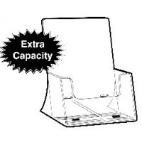 Brochure Holder, Extra Capacity, Free-standing, A4
