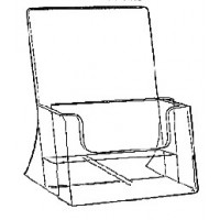 Brochure Holder, Free-standing, 2-Tier A4