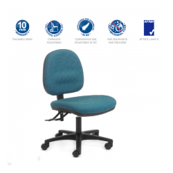 Alpha Mid-back 3 Lever Chair