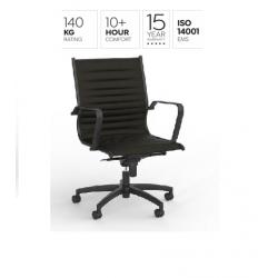 Metro Midback Chair - Black...