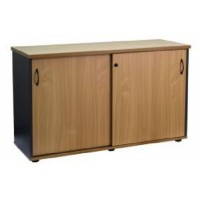 Firstline Sliding Door Credenza 1200W x 730H x 450D