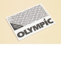 OLYMPIC TOPLESS PAD A4 100 LEAF 50GSM