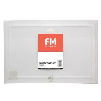 FM ENVELOPE REUSABLE CLEAR WINDOW POLYPROP