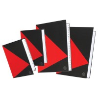 Marbig Red & Black Notebooks