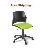 Spring Swivel Chair With Seat Upholstered
