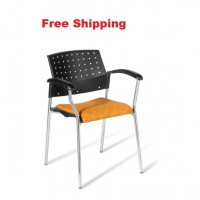 552 Chrome Frame Chair With Seat Upholstered