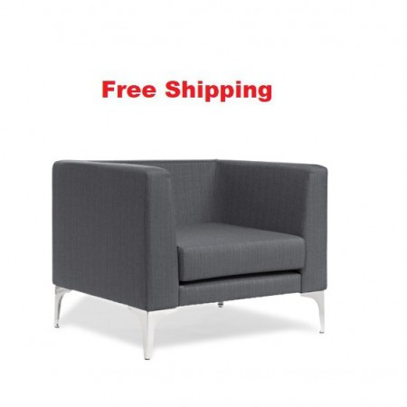 Romano Chrome Feet Chair