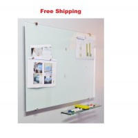 Magnetic Glassboards White Free Delivery