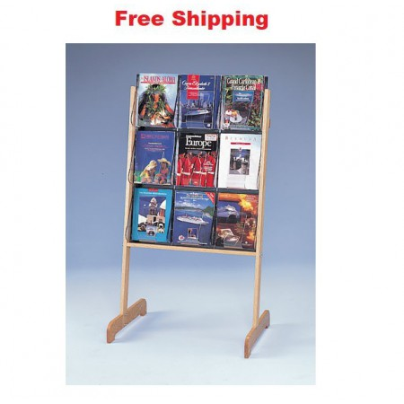 Easel Display Floor Stand A4 x 9