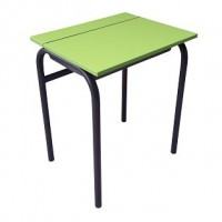 Flip Top Student Desk with Tote