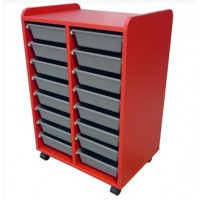 Mobile Tote Storage 600mm x 420mm x 800mm