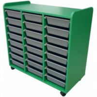 Mobile Tote Storage 900mm x 420mm x 800mm