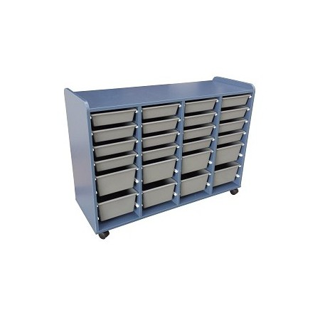 Mobile Tote Storage 1200mm x 420mm x 800mm