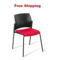 Spring 4-leg Chair With Seat Upholstered