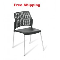Punch 4-leg Chrome Frame Chair