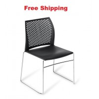 Net Chrome frame Chair