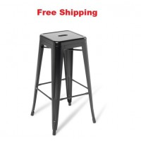 Industry Bar Stool Without Seat Upholstered