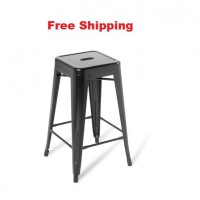Industry Kitchen Stool Without Seat Upholstered