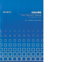 Collins A5/50 TL Tax Invoice Book 50lf NCR
