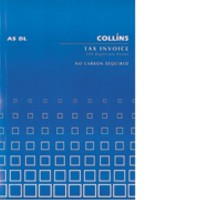 Collins A5 DL Tax Invoice Book 100lf NCR