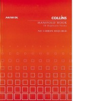 Collins A4/50 DL Manifold Book 50lf NCR