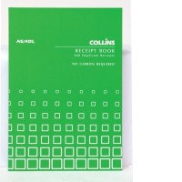 Collins A5/4 DL Receipt Book (4 to view) 100lf NCR
