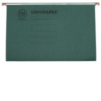 A4 CRYSTALFILE BOX 50 GREEN