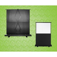 "Portable Pull-Up 60"" Projection Screen"