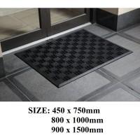 Outdoor Entrance Texas mats - Black